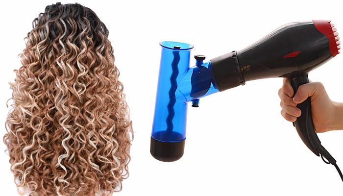 Magic Curly difuzor pentru păr: coafură perfectă la fel ca la coafor